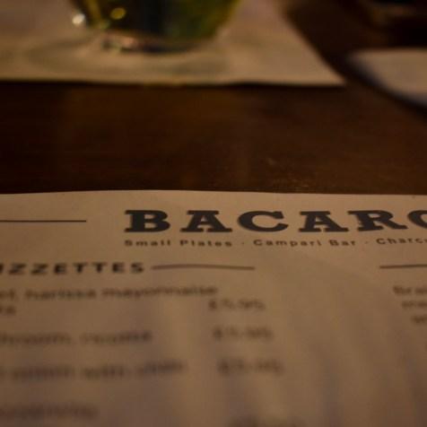 Bacaro Liverpool Italian restaurant menu gastrogays