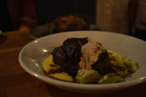 Beef cheek sweetcorn coffee Maray Liverpool GastroGays Bold Street restaurant