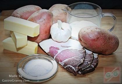 Hozzávalók-Jacket potato