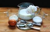 Hozzávalók-Vanília krém