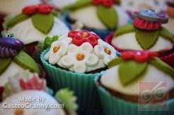 Cupcakes kompzíció