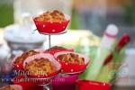 Csökkentett cukortartalmú zabpelyhes muffin
