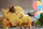 Tepsiben sült brutál sajtos tészta