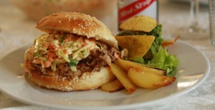 Pulled Pork Burger billede