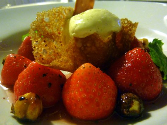 Saltum Kro - dessert