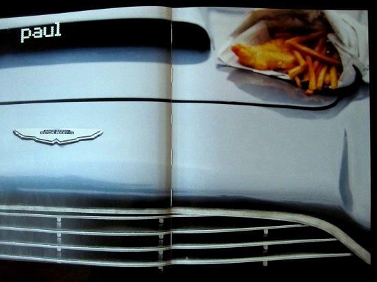 Aston Martin møder Fish'n'chips