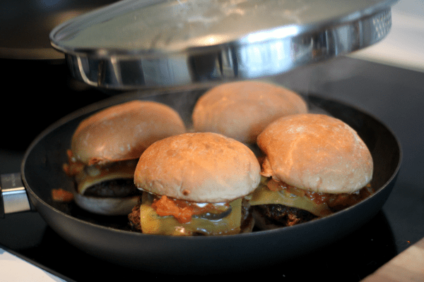 Steamed Kahuna Burger...