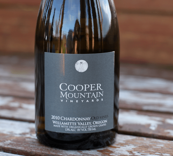 Cooper Mountain Chardonnay Old Wines 2010