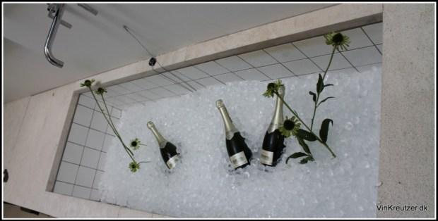 2000 Krug Clos du Mesnil - i badekarret