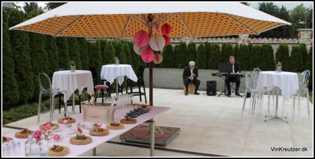 Krug Rosé - live jazz - lækker mad - godt selskab - et øjeblik med lykke