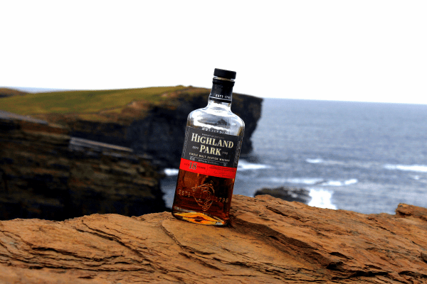 Rough country and smooth whisky...
