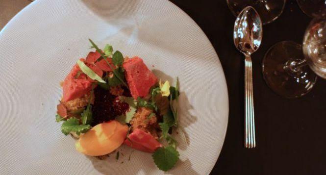 Super sorbet af gulerod og havtorn