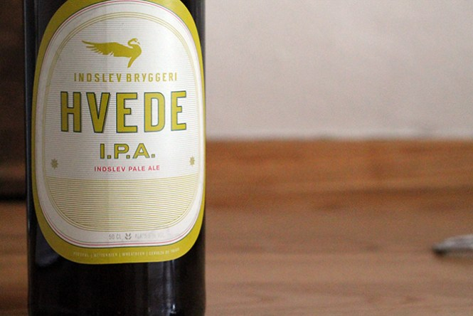 En hvede udgave af IPA fra Indslev Bryggeri