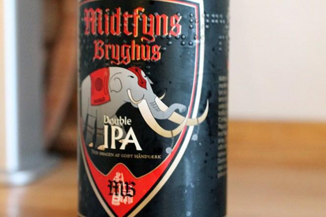 Den stærke Double IPA fra Midtfyns Bryghus