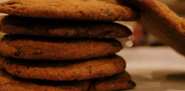 Triple chokolate cookies