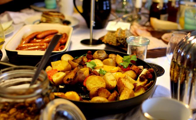 Breakfast For Champions Farmer Potato And Bacon Pan Gastromanddk