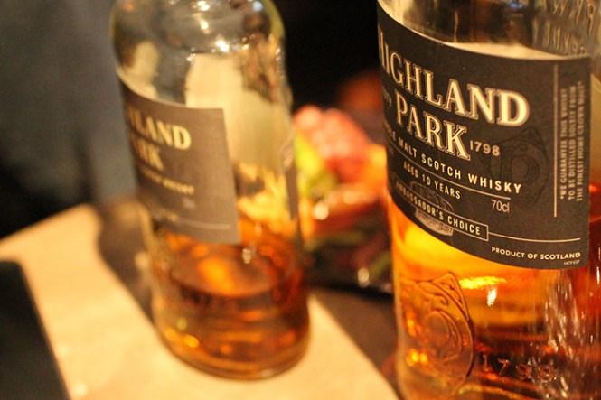 Skrub af whisky. Ikke dårligt.