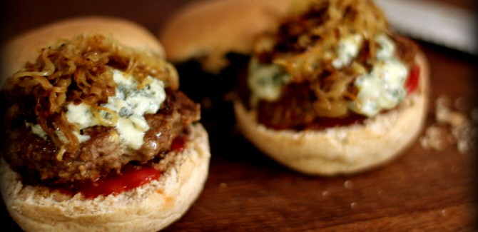 The Blue Cheese Burger – when less is more