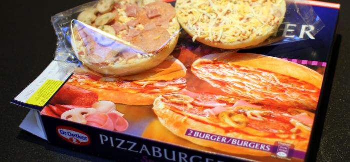 Test: Så elendig er Dr. Oetkers Pizzaburger