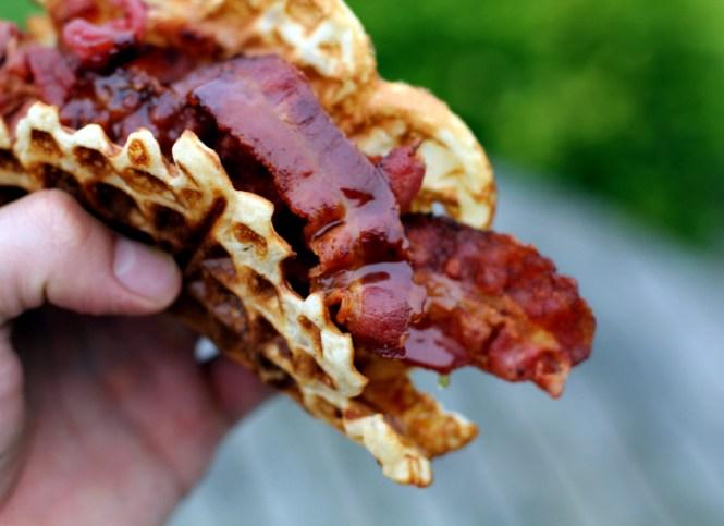 Waffle-hotdog?