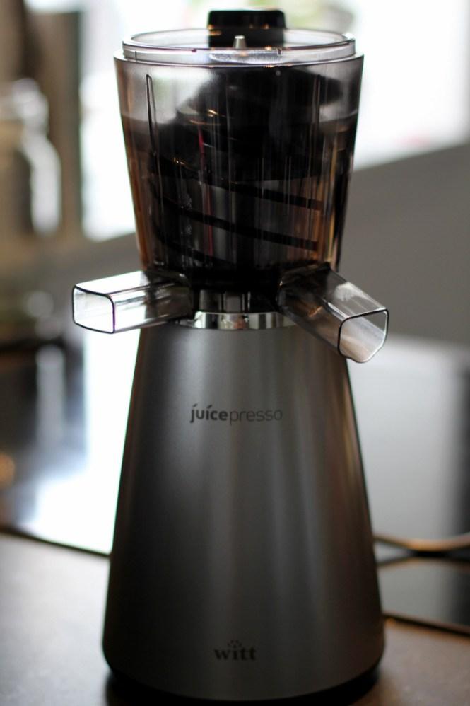 Witt Juicepresso Slow Juicer Test : Weekendtesten: Witt Juicepresso Slowjuicer Gastromand.dk