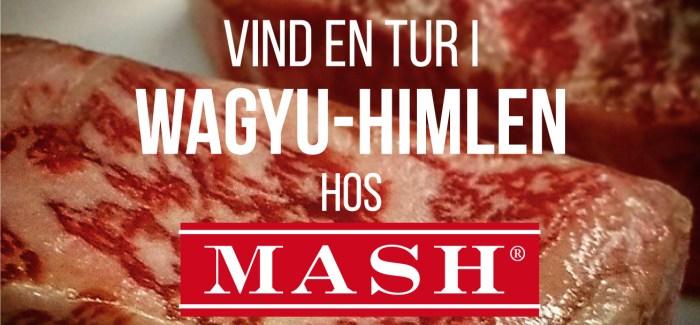 KONKURRENCE: Vind en aften i Wagyu-himlen hos MASH!