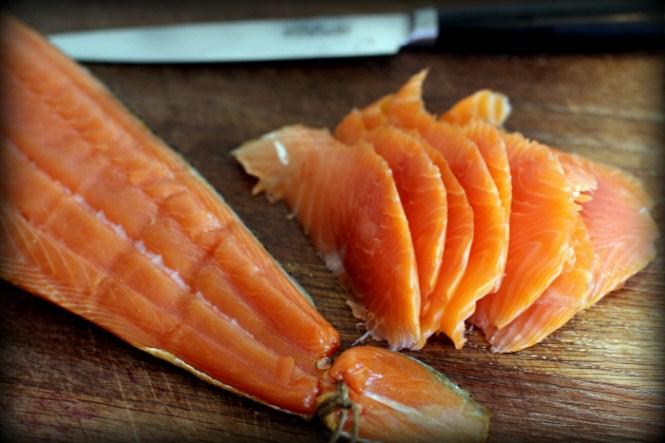 Se lige strukturen i fisken, det er sgu lækkert...