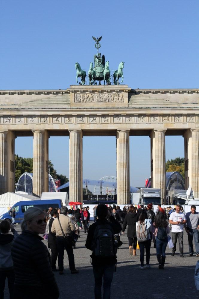 Brandenburger Tor - den sidste bevarede byport i Berlin...