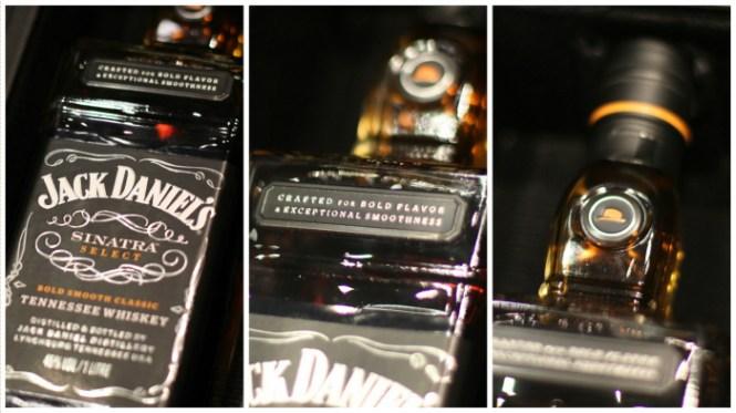 Der er masser af detaljer på flasken...