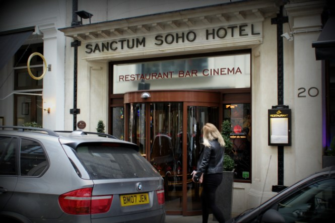 The Sanctum Soho Hotel...