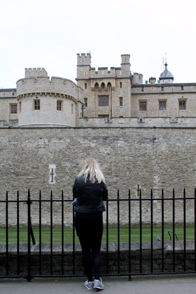 Fæstningen som er symbol på Londons storhed...