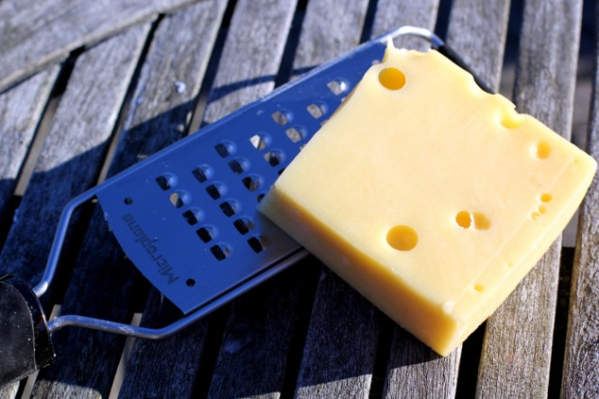Masser af ost...