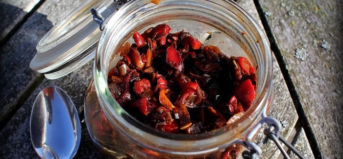 Det perfekte tilbehør: Chili-Chutney…