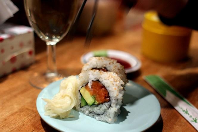 Great Sushi!