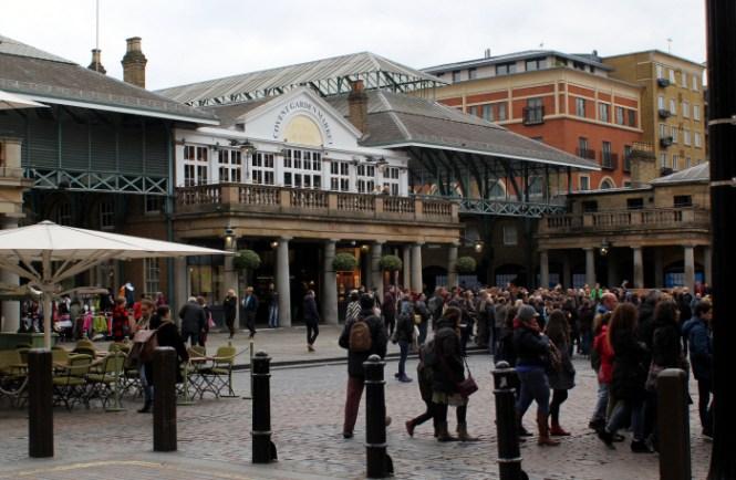 Markedet ved Covent Garden...