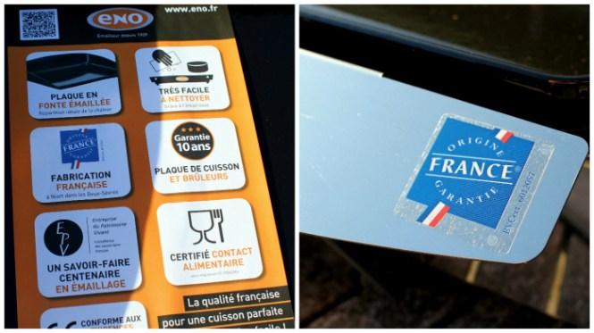 Made in France og 10 års garanti - we like!