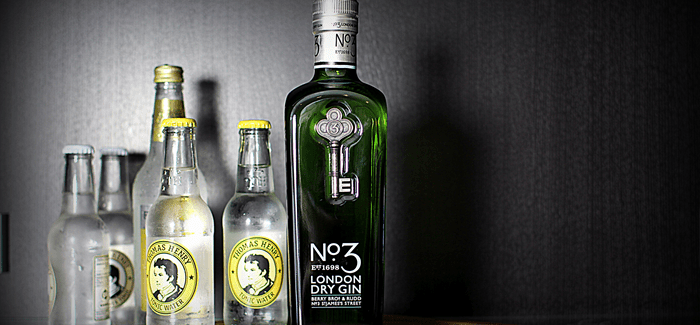 TuesdayGT XVII: No. 3 London Dry Gin med Fevertree Tonic