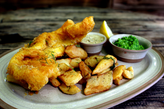Fish N Chips Wales style!