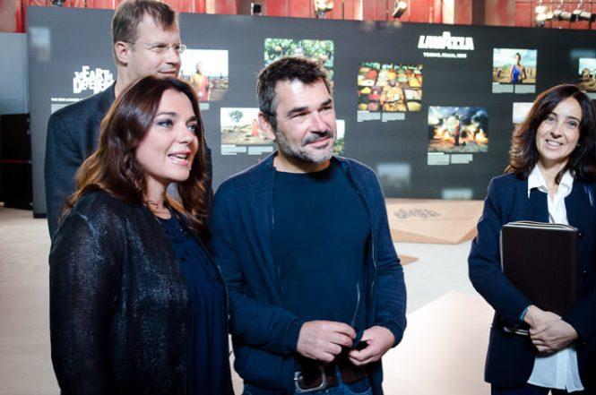 Francesca Lavazza og Denis Rouvre