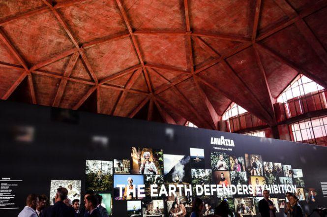 Spazio Lavazza, The Earth Defenders, Lavazza