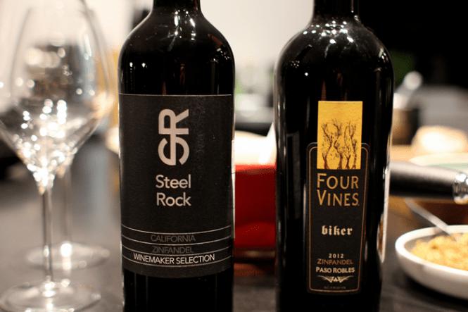Aftenens vin blev naturligvis amerikansk...