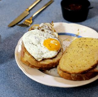Croque Madame: verdens bedste morgenmad?!