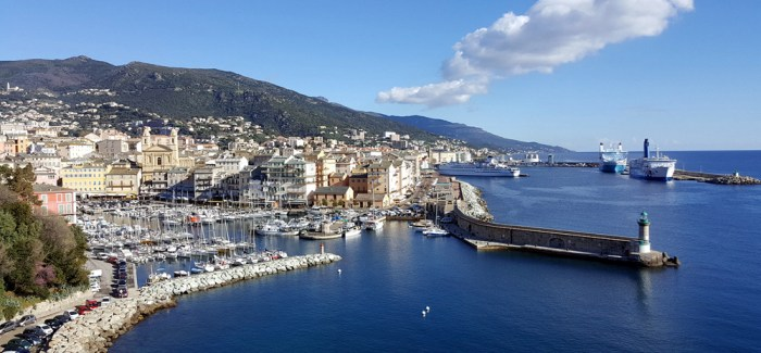 Kurs Korsika: Bastia og The million dollar view