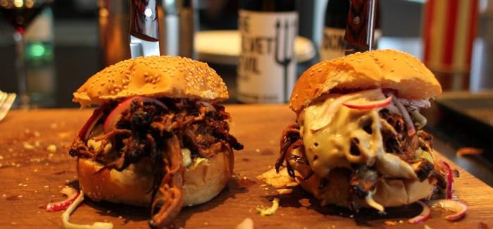 Tømmermændsmad: Brisket Burger