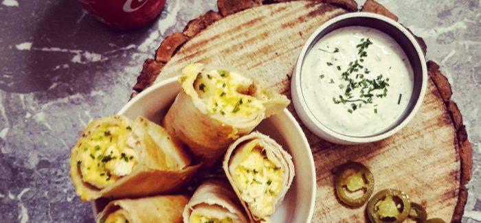 Spicy Chicken Taquitos – lækker snack opskrift