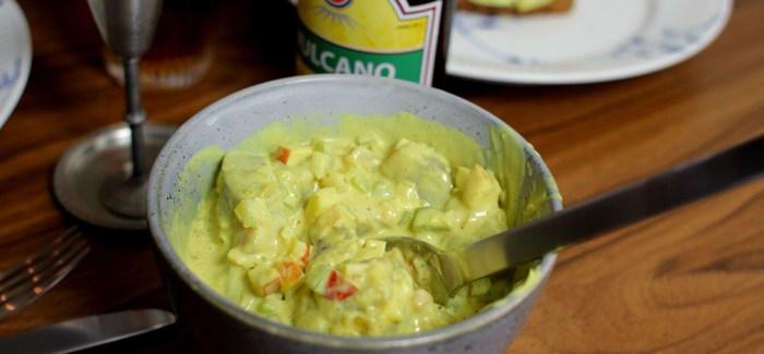 Hjemmelavet karrysalat – Glem alt om Gråsten og K-salat