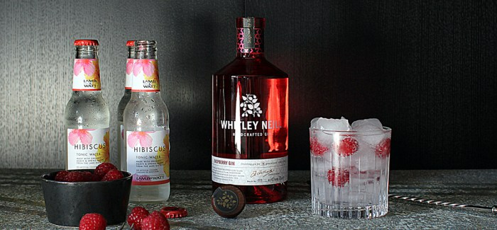 Tuesdays GT: Whitley Neil – Rasberry Gin med friske hindbær