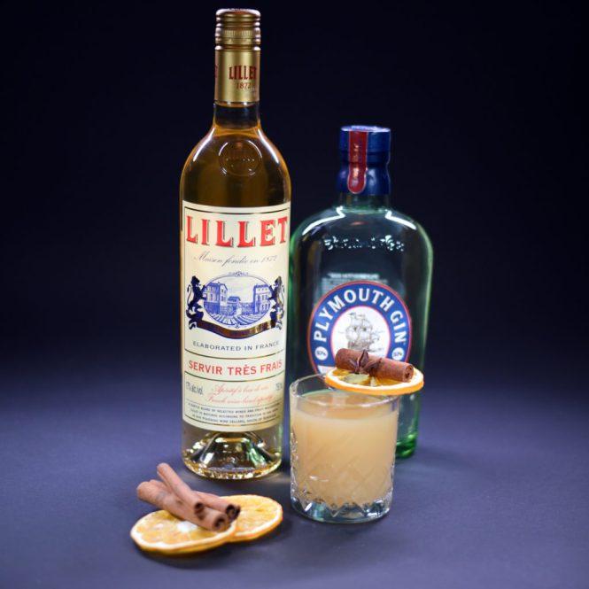Lillet Blanc, Æblemost & Plymouth Gin – så kan julen bare komme an!