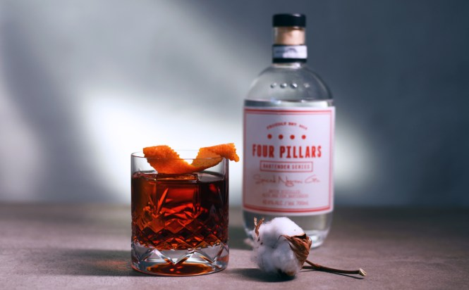 Four Pillars Spiced Negroni Gin - en Gin der kan smages, i Negroni