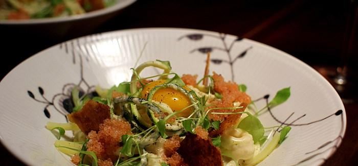 Kartoffelpasta med stenbiderrogn og verdens bedste ostesauce